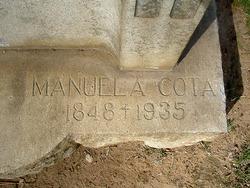 Maria Manuela del Refugio <i>Cota</i> Machado