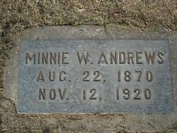 Minnie <i>Warren</i> Andrews
