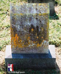 Pvt Thomas Kay Chandler
