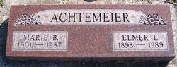 Marie Edith <i>Bach</i> Achtemeier