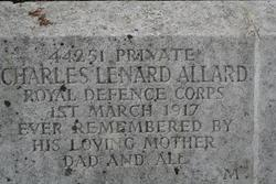Private Charles Leonard Allard