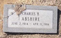 Charles B Abshire