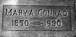 Mary Ann <i>Alexander</i> Conrad