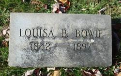 Louisa B Bowie