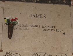 Joan Marie <i>LeGault</i> James