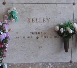 Thelma M Kelley