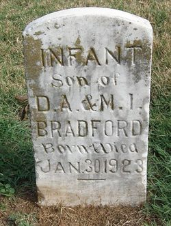Infant Son Bradford