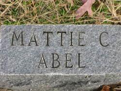 Mattie C. Abel