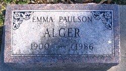 Emma Elizabeth <i>Fries</i> Alger