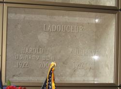 Harold J Ladouceur