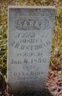 Sarah <i>Morris</i> Armstrong