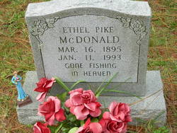 Ethel <i>Pike</i> McDonald