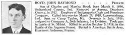 PVT John R. Boyd