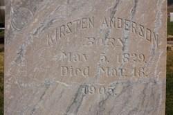 Kjersti <i>Torgersen</i> Anderson