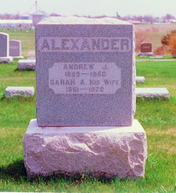 Sarah Ann <i>Winslow</i> Alexander