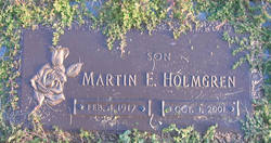 Martin Emery Holmgren