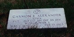 Carmon Earl Alexander