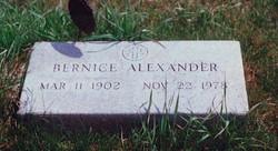 Bernice <i>Miller</i> Alexander
