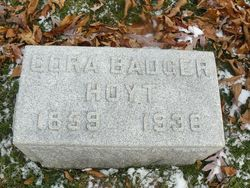 Cora <i>Mills</i> Badger Hoyt