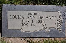 Louisa Ann <i>Hatch</i> DeLange