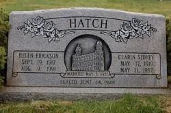 Clarin Sidney Hatch