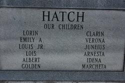 Emily Christine <i>Chistensen</i> Hatch