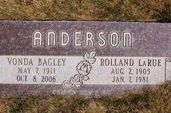 Vonda <i>Bagley</i> Anderson