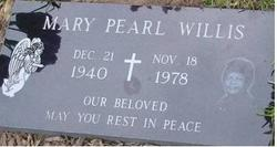 Mary Pearl Pearl Willis