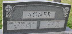 Abbie Pearl <i>Cauble</i> Agner
