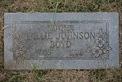 Willie <i>Johnson</i> Boyd