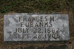 Frances Marion <i>Johnson</i> Eubanks