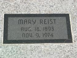 Mary Anna <i>Humm</i> Reist