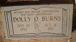 Dolly Oleta <i>Jaynes</i> Burns
