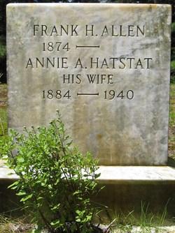Annie Arvillia <i>Hatstat</i> Allen