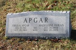 Madeleine <i>Foran</i> Apgar