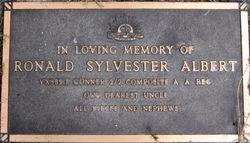 Ronald Sylvester Albert