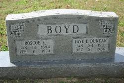 Faye E <i>Duncan</i> Boyd