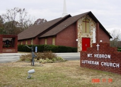 Mount Hebron Lutheran Church Cemetery