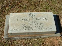 Claude E Banks