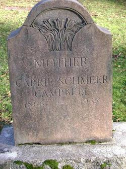 Carrie <i>Schmeer</i> Campbell