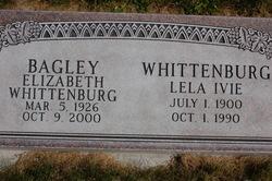 Elizabeth <i>Whittenburg</i> Bagley