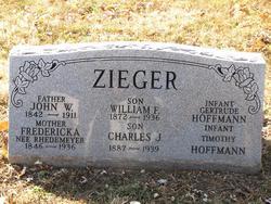 Fredericka <i>Rhedemeyer</i> Zieger