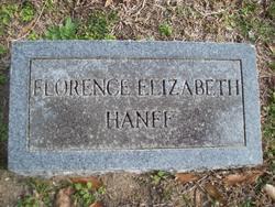 Florence Elizabeth <i>Pearce</i> Hanff