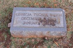 Martha Georgia <i>Tucker</i> Baugh