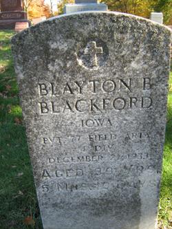 Clayton B. Blackford