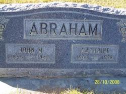 Catherine <i>Young</i> Abraham