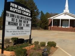New Spring Hill Baptist Church Cemetery