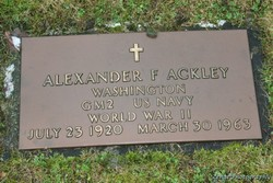 Alexander Ackley