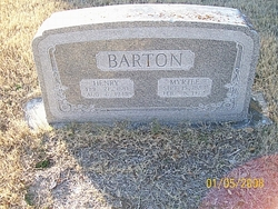 Myrtle <i>Hickman</i> Barton
