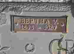 Vera Bertha <i>Nicholas</i> Grove